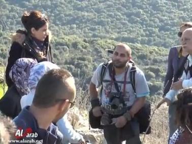 "arabTV يرافق مجموعة ""كاميرا 48"" في جولتهم التصويرية"