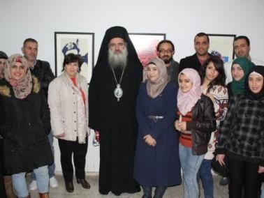 عرفات رمز وثورة في كلية فلسطين- رام الله