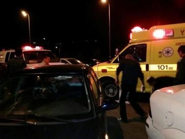 اصابة شاب بجراح بالغة الخطورة بحادث قرب كفركنا