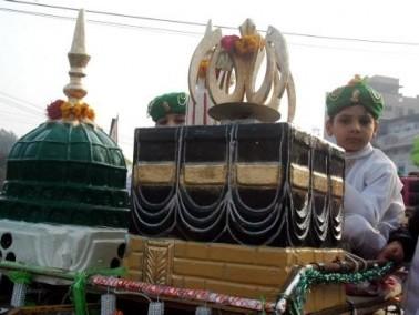احتفالات المولد النبوي في باكستان..صور