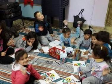 حيفا: ورشة فنية في مركز الحليصة الجماهيري