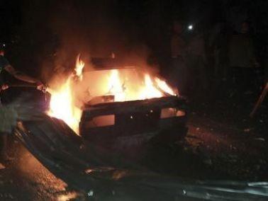 إنفجار عبوة ناسفة وضعت قرب سيّارة قيادي حمساوي