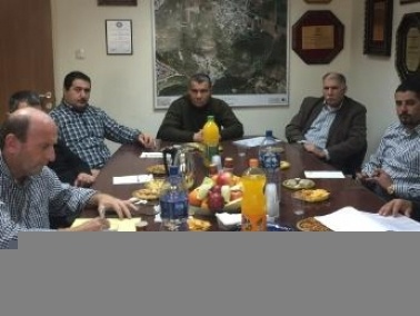 اجتماع في بستان المرج مع مندوبي الداخلية