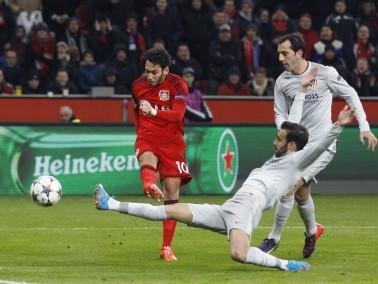 اتلتيكو مدريد يسقط امام بايرن ليفركوزن