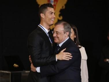 بيريز يجدد الثقة بكريستيانو رونالدو