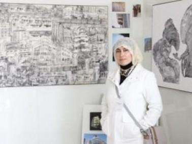 انجاز مهم للفنانة التشكيلية مها أبو حسين