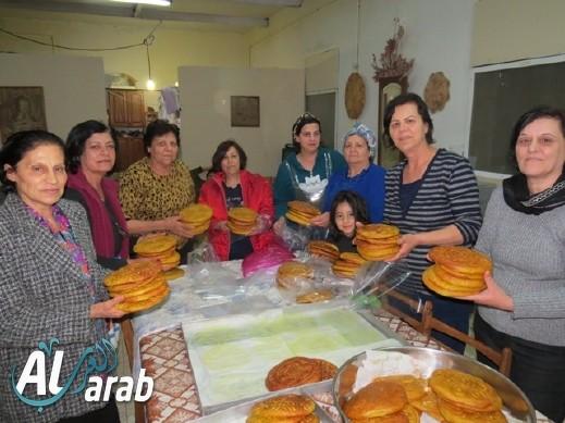افتتاح بازار حاملات الطيب الخيري الثاني في البعنة