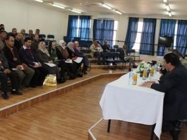 الجامعة العربية الأمريكية تنظم ورشة عمل