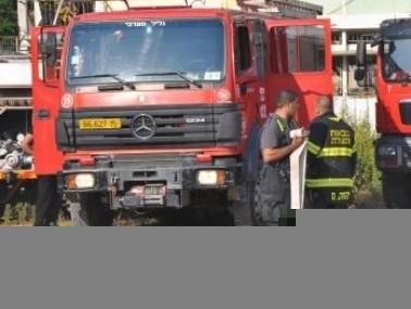 الناصرة: إحراق سيارة مواطن (45 عامًا)