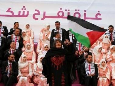 حفل زفاف جماعي في قطاع غزة