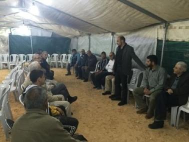 كفركنا: وفد الحركة الاسلامية في زيارة تضامنية