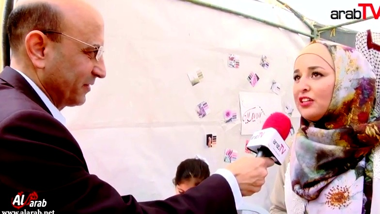 arabTV:حفل إفتتاح مهرجان السيباط الأول في جنين