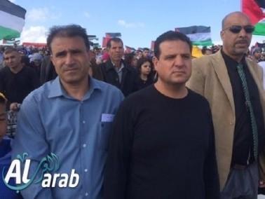 آلاف الجماهير العربية في قرية الحدثة المهجرة