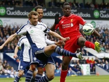 ليفربول يقع في فخ التعادل أمام وست بروميتش