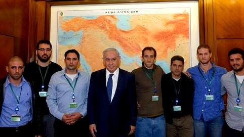 """نتنياهو يلتقي ممثلين عن """"جبهة جنود الاحتياط"""""""