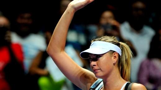 ماريا شارابوفا تنسحب من بطولة أستراليا للتنس