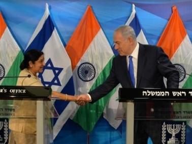 نتنياهو يلتقي برئيسة الخارجية الهندية