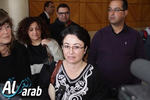 نتيجة بحث الصور عن site:alarab.com حنين زعبي