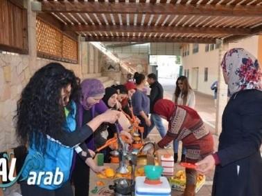 أسبوع الصحة في مدرسة كوكب أبو الهيجاء الابتدائية