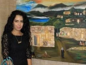 ليدي- الفنانة التشكيلية مادلين احمد: المواهب الشابة تحتاج الى دعم بلا حدود