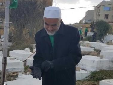 يافا: انطلاق معسكر ترميم المقابر الاسلامية والمسيحية