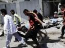 21 إصابة بانهيار سقف في جامعة الأقصى في خان يونس جنوب القطاع