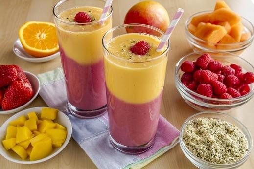 عصير التوت والمانغا..منعش ولذيذ جرّبوه