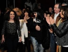 ليدي- العرض الاحتفالي لمسرحية بوق في الوادي على مسرح حيفا