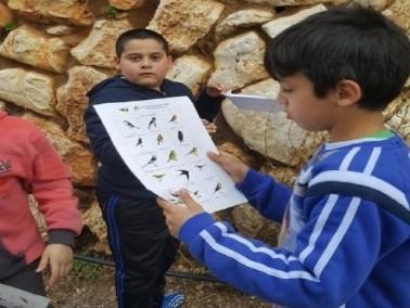 الرّامة: إبتدائيَّة سميح القاسم في مشروع بيئي