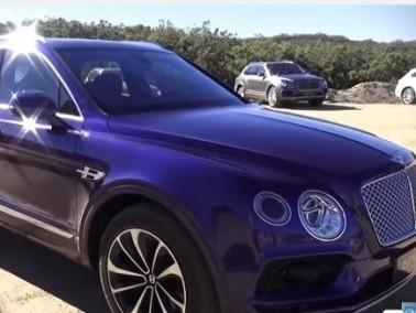 Bentley Bentayga 2016 تألق وسرعة