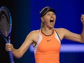 بطلة التنس العالمية شارابوفا: سقطت في اختبار المنشطات