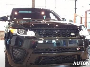 2016 Range Rover رياضيّة ومتينة