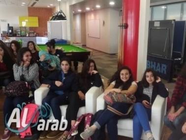 طالبات البشائر سخنين يشاركن في يوم دراسي
