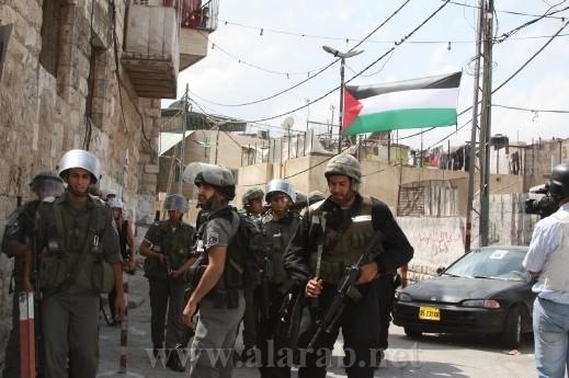 الجيش الإسرائيلي: اعتقال 15 مشتبهًا من الضفة