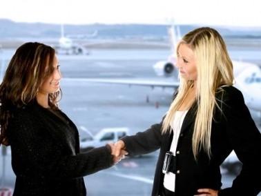 تطبيق جديد للتعرف على زملاء رحلة الطيران