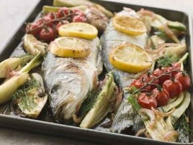 استمتعوا بطعم السمك المصري بالثوم والطحينة