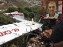 مصرع منير عمّار (50 عامًا) في تحطّم طائرة خفيفة بالقرب من الرامة