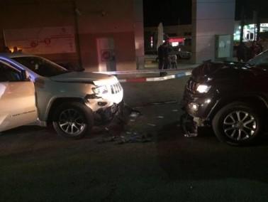 شارع 6: انقاذ مصابين بعد وقوع حادث طرق باتجاه الجنوب