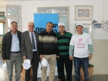 شركة مياه الجليل تشارك في يوم الأعمال الخيرية