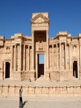 تدمر السورية من أهم المعالم السياحية العالمية