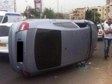 إصابة شاب في حادث طرق على شارع دير الأسد والبعنة