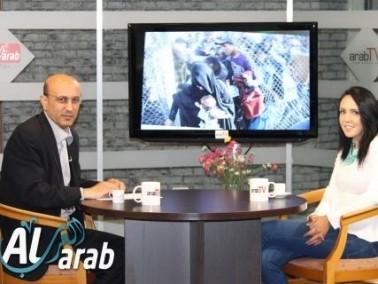 arabTv: ربى فقرا تتحدث عن اللاجئين السوريين