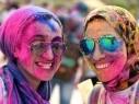 شاهدوا بالصور.. مهرجان الألوان الهندي في مصر
