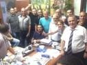ناصرتي تحتفل بتمرير الميزانية بصورة سيلفي - تفاصيل وفيديو المشادات وصور حصرية