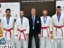 مراتب مُشرفة لأبطال نحف بالكاراتيه في بطولة أوروبا المقامة في إيطاليا
