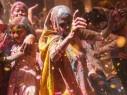 شاهدوا بالصور.. مهرجان الألوان في الهند