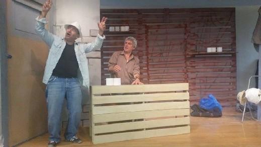 السبت: عرض مسرحية 2 في تل أبيب في الناصرة