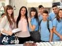 أكلات صحية في سوق الأكلات الشعبية في إعدادية محمود درويش مجد الكروم