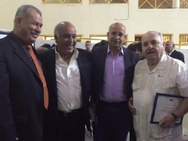بركة يشارك في حفل اشهار كتاب جديد في عمّان