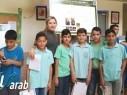 بحوث مثيرة لطلاب مدرسة السلام مجد الكروم خلال معروض الابحاث العلمية البلدي